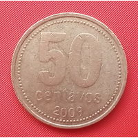 65-18 Аргентина, 50 сентаво 2009 г.