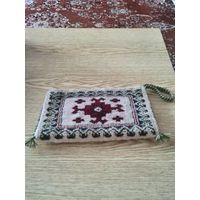 Подарок в тему клатч из туркменского ковра с сертификатом-100%шерсть