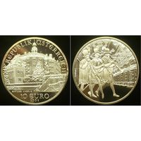 10 евро 2002 г Австрия