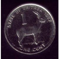 1 цент 1997 год Эритрея