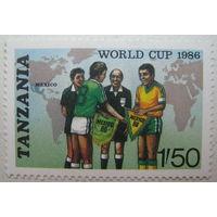 Танзания мака 1986 г. Чемпионат мира по футболу в Мексике