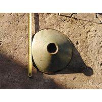 Крышка на керосиновую лампу старинную подвесную эмалированную