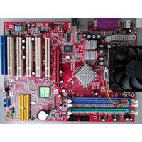 MSI K7N2 Delta-L MS-6570G в комплекте с ...