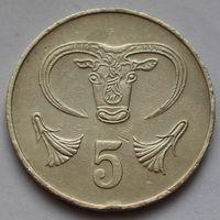 Кипр, 5 центов 1983 г