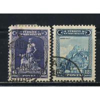 Турция Респ 1929 Стандарт #888-9