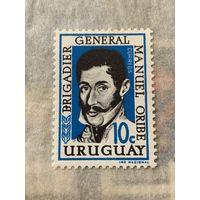 Уругвай. Генерал Мануэль Орибэ