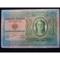 Австро-Венгрия 100 крон 1912 г
