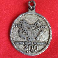 Медаль 1776 - 1976. 200 лет Соединённым Штатам Америки