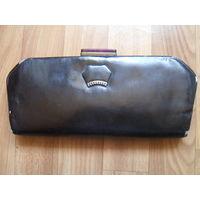 Старая Советская женская сумочка.Кожа.Минск.