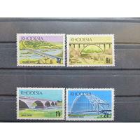 Родезия\704\ 1969- мосты. MNH