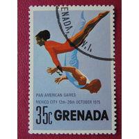 Гренада 1975г. Спорт.