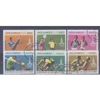 [571] Мозамбик 1980. Спорт.Олимпиада. Гашеная серия.