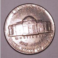 5 центов, США 1991 г.