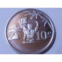 Токелау 10 центов 2012 г.