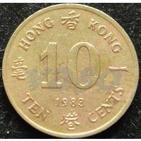 647:  10 центов 1983 Гонконг