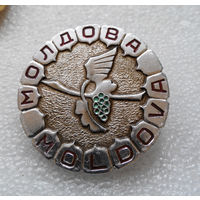 Значок. Молдова. Большой значок #1084