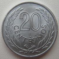 Уругвай 20 сентесимо 1965 г. (u)