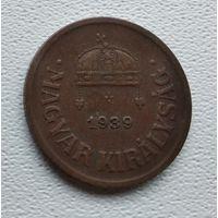 Венгрия 2 филлера, 1939 1-1-32