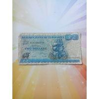 Зимбабве 2доллара