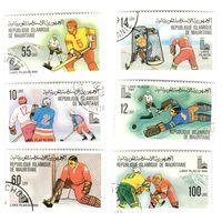 Зимние Олимпийские игры 1980 Лейк-Плэсид (Исламская Республика Мавритания) 6 марок