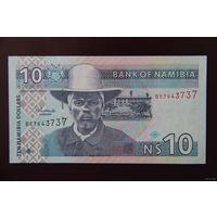 Намибия 10 долларов 2001 UNC