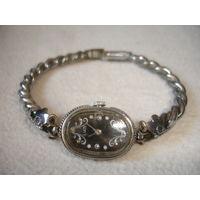 Часы Луч СССР красивый браслет на ходу