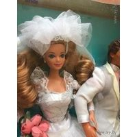 Midge Wedding Day Barbie Ken Alan Todd Kelly набор 6 кукол 1990год