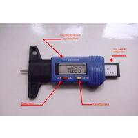 Цифровой измеритель протектора шин (торм.колодок)