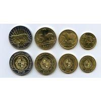 Уругвай 4 монеты