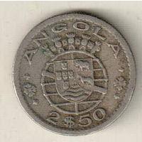 Ангола 2.5 эскудо 1968