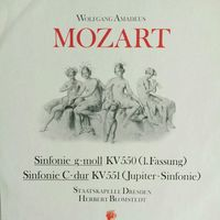 W.A. Mozart /Symphonie g-moll+C-dur/1986, Eterna, LP,NM, Germany