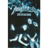 Metallica Live in San Diego фирменный