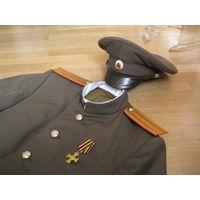 Стилизация формы полковника царской армии (РИА) - комплект: фуражка, китель мундир, бриджи галифе, ГК.