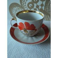 Чайная пара Барановка 1970-91гг(чашка 200-250мл.).лот 5