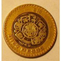10 песо 1997 Мексика