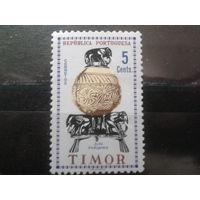 Тимор, колония Португалии 1961 Искусство, слоны