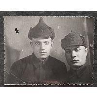 Фото двух бойцов РККА. 5х7 см