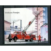 Камбоджа - 1997 - Пожарные машины - [Mi. bl. 226] - 1 блок. MNH.