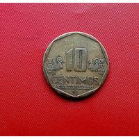 99-15 Перу, 10 сентимо 2001 г.