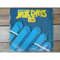 T. Rypdal, J. McLaughlin, E. Viklicky, трио В. Ганелина, M. Kratochvil, L. Andrst, T. Ackerman, S. Clarke, Z. Namyslowski, a.o. - Bratislava Jazz Days 85 - Opus, Чехословакия, 1986 г. - 2 пл-ки