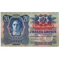 Австрия, 20 крон, 1919 г.