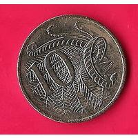 42-11 Австралия, 10 центов 2007 г.