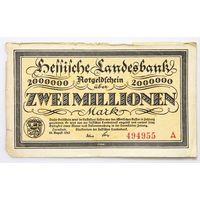 Германия, 2 000 000 марок 1923 год.