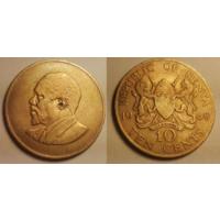 10 центов. Кения. 1968