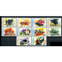 Руанда - 1982г. - Охрана окружающей среды. Фауна, флора. - полная серия, MNH [Mi 1196-1205] - 10 марок