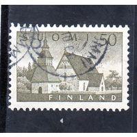 Финляндия.Ми-474. Церковь в Ламми. 1957.