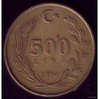 500 Лир 1990 год Турция