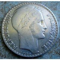 Франция. 20 франков 1933 г.