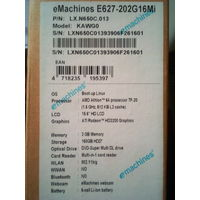Ноутбук Aser Emachines E627