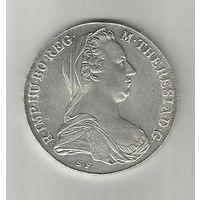 "Австрия, 1 талер 1780 г. ""Мария Терезия "" (Серебро )"